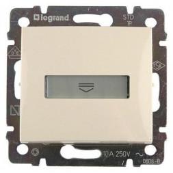 Выключатель карточный Legrand Valena с выдержкой времени и подсветкой слоновая кость 774134