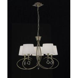Подвесная люстра Mantra Mara Antique Brass 1621