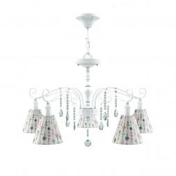 Подвесная люстра Lamp4you Provence E4-05-WM-LMP-O-17-CRL-E4-05-GR-DN