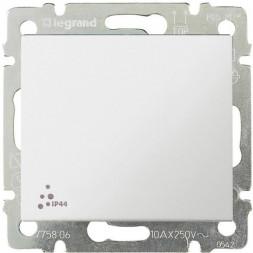 Выключатель одноклавишный Legrand Valena 10A 250V IP44 белая 774201