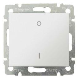 Выключатель одноклавишный трехполюсный Legrand Valena 10A 400V белый 774403