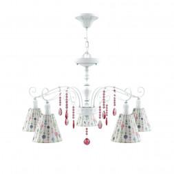 Подвесная люстра Lamp4you Provence E4-05-WM-LMP-O-17-CRL-E4-05-PK-DN