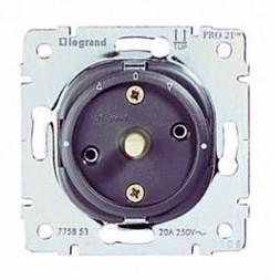Выключатель поворотный 2-полюсный Legrand Galea Life 10A 250V управления жалюзи 775853