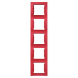 Рамка 5-постовая вертикальная Schneider Electric Sedna SDN5801541
