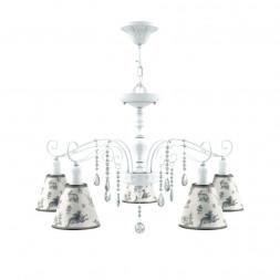 Подвесная люстра Lamp4you Provence E4-05-WM-LMP-O-8-CRL-E4-05-TR-DN