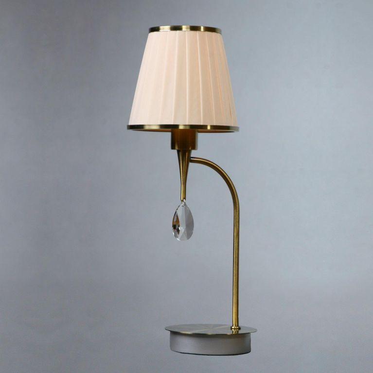 Настольная лампа Brizzi Alora MA01625T/001 Bronze Cream
