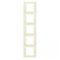 Рамка 5-постовая вертикальная Schneider Electric Sedna SDN5801547