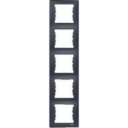 Рамка 5-постовая вертикальная Schneider Electric Sedna SDN5801570