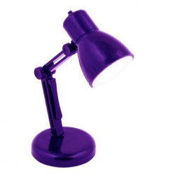 Фонарь на прищепке Uniel (UL-00000195) от батареек 105х38 30 лм S-KL019-B Purple