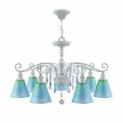 Подвесная люстра Lamp4you Provence E4-07-G-LMP-O-18-CRL-E4-07-GB-DN