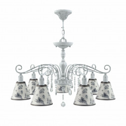 Подвесная люстра Lamp4you Provence E4-07-G-LMP-O-8-CRL-E4-07-TR-DN