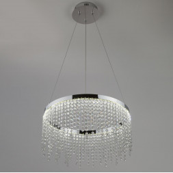 Потолочная светодиодная люстра Eurosvet 90050/1 хром