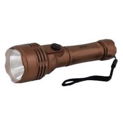 Ручной светодиодный фонарь Uniel (UL-00000205) от батареек 148х44 35 лм S-LD044-C Brown