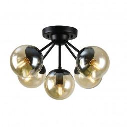 Потолочная люстра Arte Lamp A1664PL-5BK