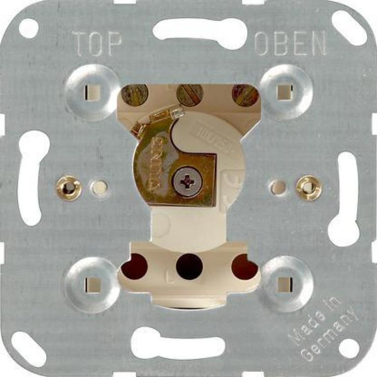 Выключатель кнопочный с замком Gira System 55 10A 250V 016300