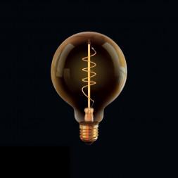 Лампа светодиодная диммируемая E27 4W 2800К прозрачная VG10-G95GE27warm4W-FB 7076