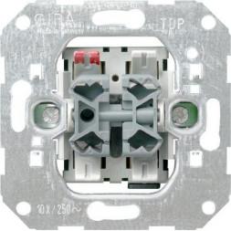 Выключатель управления жалюзи Gira System 55 10A 250V 015900