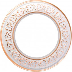 Рамка Antik Runda на 1 пост белое золото WL70-frame-01 4690389106477