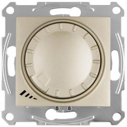 Диммер поворотно-нажимной универсальный Schneider Electric Sedna 4-400W SDN2201268