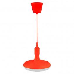 Подвесной светодиодный светильник Horoz Sembol красный 020-006-0012