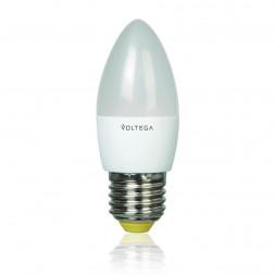 Лампа светодиодная E27 5.4W 4000К матовая VG4-C2E27cold5W 5744
