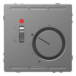 Терморегулятор Schneider Electric Merten D-Life с центральной платой с выключателем 230V MTN5760-603
