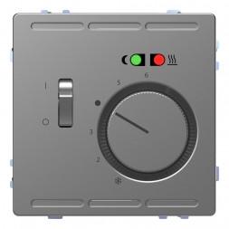 Терморегулятор Schneider Electric Merten D-Life с центральной платой с выключателем 230V MTN5764-603