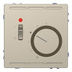 Терморегулятор Schneider Electric Merten D-Life с центральной платой с выключателем 24V MTN5761-6033