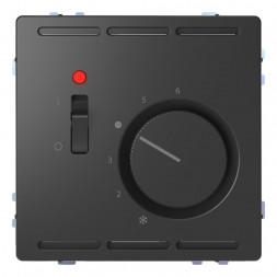 Терморегулятор Schneider Electric Merten D-Life с центральной платой с выключателем 24V MTN5761-6034