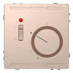 Терморегулятор Schneider Electric Merten D-Life с центральной платой с выключателем 24V MTN5761-6051
