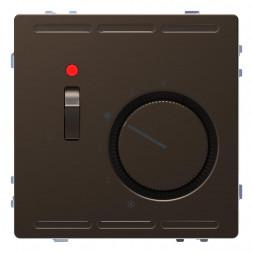 Терморегулятор Schneider Electric Merten D-Life с центральной платой с выключателем 24V MTN5761-6052