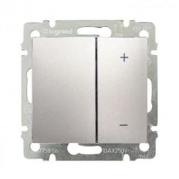 Диммер кнопочный Legrand Valena 400W алюминий 770262
