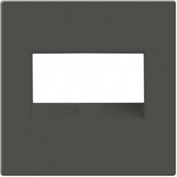 Рамка для двойной розетки Еthernet RJ-45 серо-коричневый WL07-RJ45+RJ45-CP 4690389119583