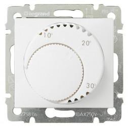 Термостат систем отопления Legrand Valena белый 774226
