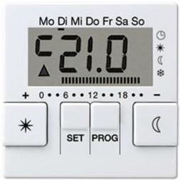 Дисплей термостата с таймером Jung A 500 белый AUT238DWW
