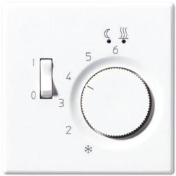 Накладка регулятора теплого пола Jung LS 990 белая LSFTR231PLWW