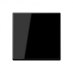 Накладка светорегулятора/выключателя нажимного Jung A 500 черная A1561.07SW