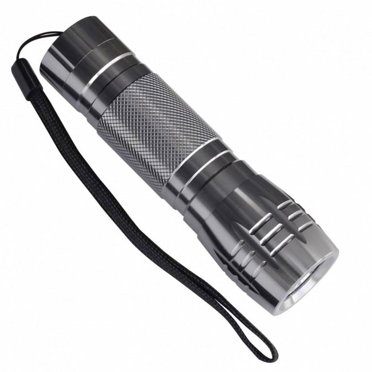 Ручной светодиодный фонарь Uniel (03243) от батареек 60 лм S-LD012-C Silver