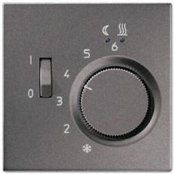 Регулятор теплого пола 10(4)А Jung LS 990 антрацит FTRAL231AN