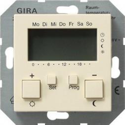 Термостат Gira System 55 помещения кремовый глянцевый 237001