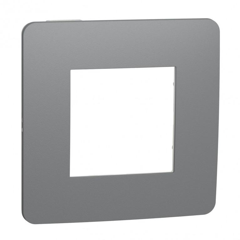 Рамка 1-постовая Schneider Electric Unica New Studio NU280221
