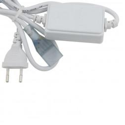 Шнур сетевой для светодиодной ленты (10968) Uniel UCX-Q220 SP4/B67-RGB White 1 Sticker
