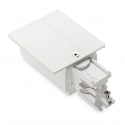 Питание левый Ideal Lux Link Trim Main Connector Left White