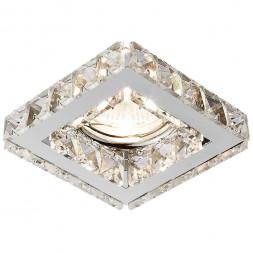 Встраиваемый светильник Ambrella light Crystal K110 CL/CH