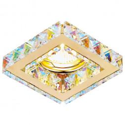 Встраиваемый светильник Ambrella light Crystal K110 PR/G