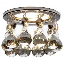 Встраиваемый светильник Ambrella light Crystal K2051C KF/CH