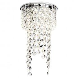 Встраиваемый светильник Ambrella light Crystal K2071 CH/CL