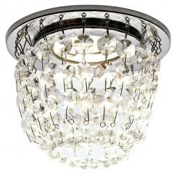 Встраиваемый светильник Ambrella light Crystal K2075 CH/CL