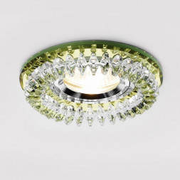 Встраиваемый светильник Ambrella light Crystal K220 GD