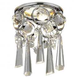 Встраиваемый светильник Ambrella light Crystal K2222 CH/CL